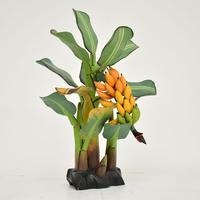 Vintage South Amercian Carved Wood Banana Tree Sculpture (2 of 10)