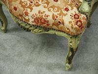 Pair of Italian Carved and Painted Armchairs (2 of 16)