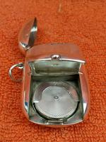 Antique Sterling Silver Hallmarked Vesta & Sovereign Case (12 of 12)