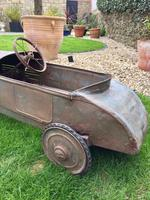 Vintage Eureka Bugatti Pedal Car Original 1930's (12 of 12)