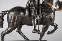 Very Large Stunning 19th Century Equestrian Bronze Sculpture of Bartolomeo Colleoni (15 of 20)