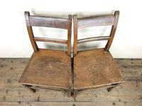 Pair of Welsh Antique Oak Farmhouse Chairs (4 of 11)