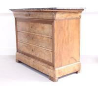 19th Century Burr Walnut Commode (3 of 9)