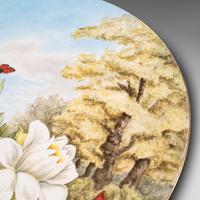 Antique Decorative Charger Plate, English, Ceramic, Dish, Art Nouveau, Victorian (6 of 12)