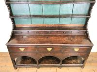 Antique 18th Century Joined Oak Dresser (2 of 10)