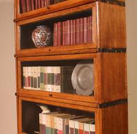 Globe Wernicke Bookcase Called Stacking Bookcase in Oak - 5 Items (5 of 9)