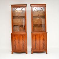 Pair of Antique Mahogany Waring & Gillows Bookcases (4 of 9)