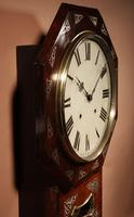 An Interesting Drop Dial American Wall Clock, Second Half 19th century. (5 of 12)