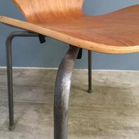 Teak 'City Chairs' by Øyvind Iversen (2 of 13)
