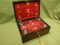 Inlaid Rosewood Jewellery – Vanity Box c.1860 (11 of 14)