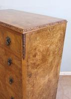 Burr Walnut Chest of Drawers c.1930 (7 of 12)