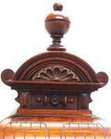 German Carved-Oak 8-Day Mantel Clock by Junghans (11 of 13)