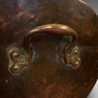 Antique Helmet Coal Scuttle, English, Copper, Fireside Bucket, Victorian, 1870 (8 of 11)