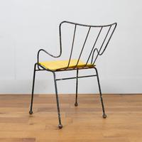 Early Ernest Race Antelope Chair Yellow (8 of 14)