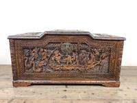 Early 20th Century Carved Camphor Trunk (2 of 14)