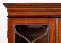 Georgian Mahogany 2 Door Glazed Bookcase (8 of 8)