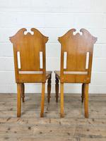 Antique Pair of Carved Oak Chairs (6 of 6)