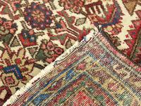 Small Hand Woven Hamadan Carpet (3 of 3)