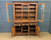 Victorian Carved Oak 3 Door Bookcase (21 of 23)