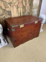 19th C Brass Bound Campaign Style Chest (7 of 8)