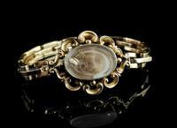 Antique Mourning Bracelet, 9ct Gold, Hairwork, Conversion (2 of 11)