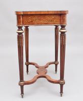 19th Century Inlaid Mahogany Dressing Table (10 of 13)
