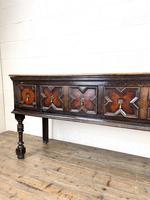 Antique 18th Century Geometric Dresser Base (4 of 10)