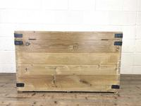 Antique Large Rustic Pine Trunk (10 of 10)