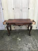 High quality early Victorian sofa / centre / console table (12 of 14)