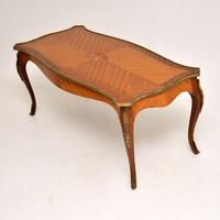 Antique French Inlaid Marquetry Coffee Table (7 of 8)