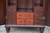 Unusual Georgian Small Proportioned Mahogany Cabinet / Cupboard with Interior Drawers (5 of 12)