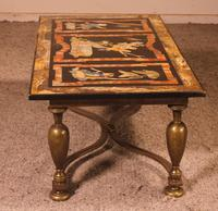 Coffee Table with Scagolia Marble Top - Florence 19th Century (11 of 13)