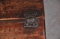 17th Century Carved Oak Box (6 of 7)