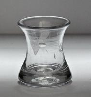 Late Georgian, Masonic Engraved Small Firing Glass (2 of 5)