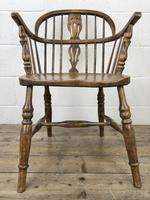 Pair of Antique Windsor Armchairs (4 of 9)