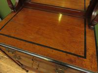 Antique Aesthetic Movement Music Cabinet with fall front & hand painted design (14 of 14)