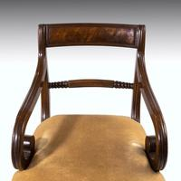 Good Set of Regency Period 4+2 Mahogany Framed Chairs (4 of 4)