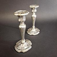 Edwardian Silver Candlesticks (2 of 6)