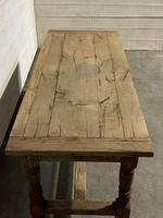 Rustic French Oak 19th Century Farmhouse Kitchen Table (30 of 31)