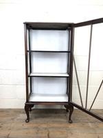 Antique Edwardian Single Door Display Cabinet (6 of 9)