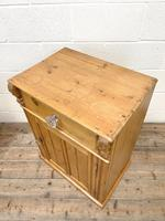 Two Similar Antique Pine Bedside Cupboards (5 of 10)