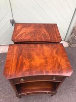 Pair of Mahogany Bedside Cabinets (6 of 11)