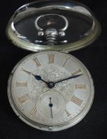 Antique Silver Pair Case Pocket Watch Fusee Lever Escapement Key Wind Silver Huntly & Losstemouth – A SimpsonAntique Silver Pair Case Pocket Watch Fusee Lever Escapement Key Wind Silver Huntly & Losstemouth – A Simpson (2 of 11)