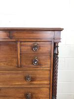 Large Victorian Mahogany Chest of Drawers (12 of 16)