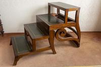 Early 19th Century Mahogany Metamorphic Library Chair (5 of 8)
