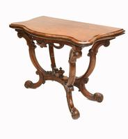 Victorian Card Table Antique Games Tables Rosewood c.1880 (6 of 13)