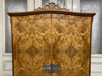 Queen Anne Burr Walnut Fitted Wardrobe (12 of 15)