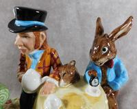 Royal Doulton, Beswick  Ware, Limited Edition, The Mad Hatter's Tea Party Tableau (5 of 12)