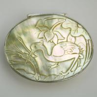 Fine European & Chinese Silver & Mop Carved Novelty Snuff Box 17th/18th Century (4 of 12)