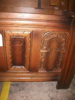 Carved Oak Lift Top Coffer (4 of 4)
